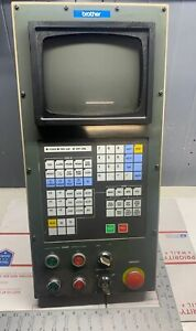 Brother Cnc Control Keyboard Monitor pulled From Working Tc 225 warranty