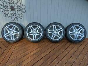 Mercedes Benz Factory Wheels Tires 21 Inch Amg Twin Five Spoke Factory