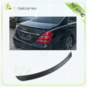 Trunk Spoiler Wing Fits For 2007 2013 Mercedes Benz W221 S550 S600 S65 S63 Style