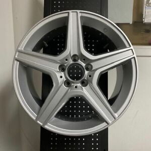 18 C63 Amg Silver Rims Wheels Fits Mercedes Benz S Class W220 S430 S350 S500