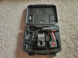 Snap on Ct3450 1 2 Cordless Impact Wrench 14 4v With Battery Charger
