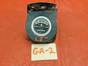 Stewart Warner Style Amp Gauge 1 5 Bracket Included Tested