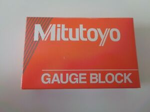 Mitutoyo Steel Gage Block 611113 531 375 Asme 0 New In Box