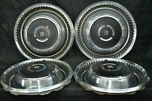 1969 69 Chrysler Dodge Plymouth 300 Hubcaps Wheel Covers Three Hundred Set Of 4