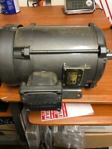 Baldor Electric Motor 3 Hp 1725 Rpm M7042t Tested
