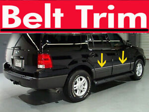 For Ford Expedition Chrome Body Side Molding Trim Kit 2003 2004 2005 2006