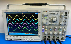 Tektronix Dpo4104 Digital Phosphor Oscilloscope 1 Ghz 4 Channel
