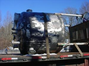 950 Gallon Stainless Steel Tank Atmospheric Dished Top And Bottom