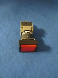 Hardinge Red Lighted Push Button Switch Nv00036500013