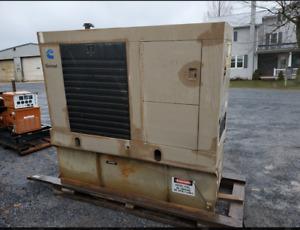 5 Onan 50kw Generators Cummins Diesel Engine