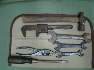 Vintage Vlchek Tool Kit Reproduction Tool Bag Vintage Mckaig Hatch Old Tool Set