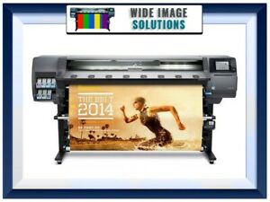 Hp Latex Plotter Printer 360 64 Wideimagesolutions W supplies And Rip Software