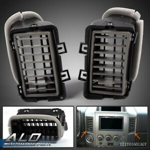 For 2004 2006 Nissan Titan armada Dash Ac Air Vents Right And Left Side Pair