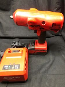 Snap on Tools Ct8850 1 2 Drive 18v Cordless Impact Wrench Ct8850 9110251