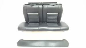 Rear Black Leather Seats Oem 2003 Ford Mustang Gt Mach 1