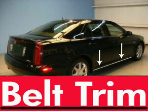 For Cadillac Sts Chrome Body Side Molding Trim Kit 2005 2008 2009 2010 2011