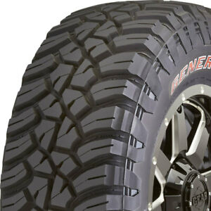 4 New Lt295 70r17 E General Grabber X3 Mud Terrain 295 70 17 Tires