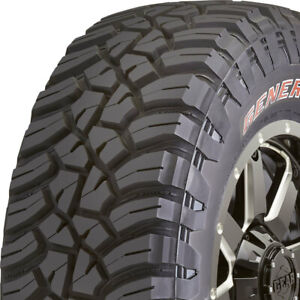 4 New General Grabber X3 Lt 35x12 50r20 Load E 10 Ply Srl M T Mud Tires