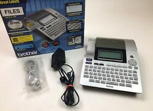 Brother P touch Pt 2700 Thermal Printer Professional Labeling System With Box