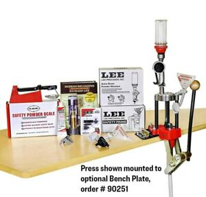 Lee Reloading Classic 4 Hole Turret Press Deluxe Kit 90304 $239.98