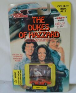 Dukes Of Hazzard The General Lee 1997 Racing Champions 1144 Die Cast Card #135 $19.49