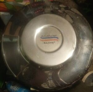Vintage American Racing Wheel 8 5 Round Chrome Air Filter Cover Or Center Cap
