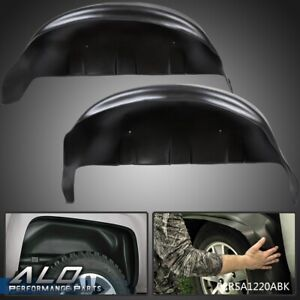 Rear Wheel Well Liners Guards Pair Black For 2017 2018 2019 Ford F250 F350