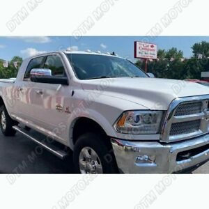 For Dodge Ram 1500 2500 3500 Chrome Abs Side View Mirror Cover Cap No Signal Cut