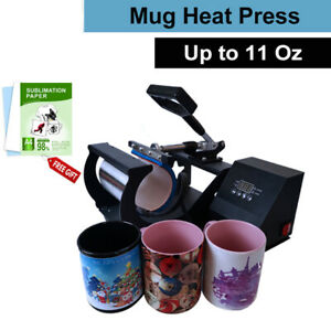 Mug Heat Press Machine Sublimation Transfer Machine For 11oz Coffee Mugs Cups Us
