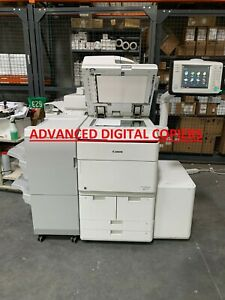 Canon Imagerunner Advance 8505 Copier Printer W staple Finisher And Lct