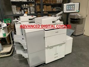 Canon Imagerunner Advance 8595 Copier Printer W staple Finisher And Lct 331k