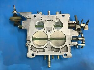 Nos Carter Thermoquad Base Plate Mopar Dodge Plymouth Thermo Quad