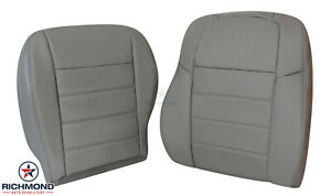 2009 Dodge Charger Se R t Sxt Hemi driver Side Complete Leather Seat Covers Gray