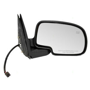 Passengers Power Side View Mirror Heated For Cadillac Gmc Chevrolet Suv Pickup