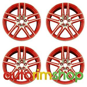 Ford Mustang 2012 2013 19 Factory Oem Wheels Rims Set Cr321007d