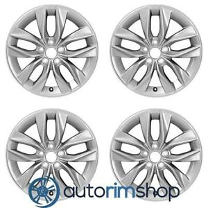 New 17 Replacement Wheels Rims For Toyota Avalon 2019 Set Silver
