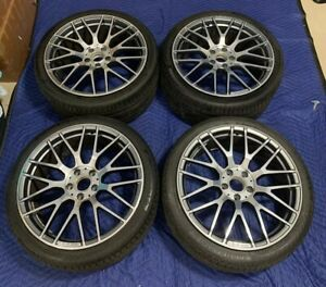 4 19 Mercedes Amg Cls63s Wheels Rims Tires Factory Oem Staggered 2015 2016 2017