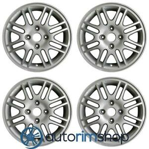 New 15 Replacement Wheels Rims For Ford Focus 2000 2011 Set Silver