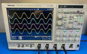 Tektronix Dpo7254 Digital Phosphor Oscilloscope 2 5ghz 40gs s