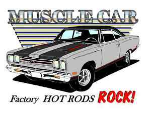1969 Plymouth Gtx T Shirt Muscle Car