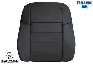 2008 2009 Dodge Charger Passenger Side Lean Back Leather Seat Cover Dark Gray