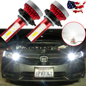 For Honda Accord Civic High Power 6000k 9005 9011 Led Daytime Running Light Drl