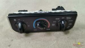 2001 Ford F150 Pickup Dash Mounted Temperature Controls
