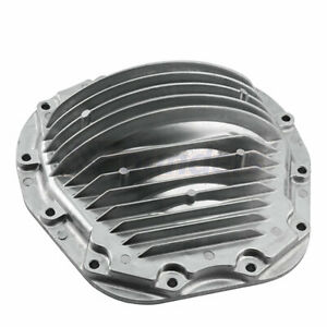Rear Differential Cover Finned Aluminum For Ford F 250 Pickup Excursion 6 4l