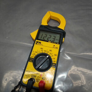 Ideal 61 760 Digital Snap around Volt ohm ammeter Clamp Meter W leads
