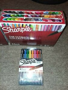 Sharpie The Ultimate Collection 45 Count 8 Set Art Pen Permanent Marker Sets