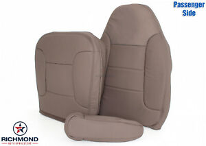 1992 1996 Ford Bronco Xlt passenger Side Complete Leather Seat Covers Tan
