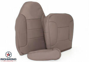 1993 1994 1995 Ford Bronco Xlt Driver Side Complete Leather Seat Covers Tan