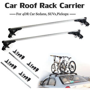 For Kia Optima Soul Car Luggage Cross Bars Roof Rack Carrier Window Frame 3clamp