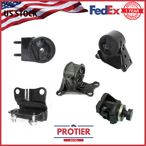 1998 1999 Mazda 626 2 0l Motor Trans Mount Set 5pcs For Auto